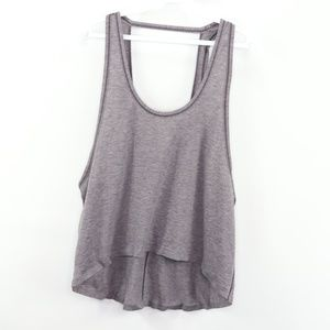 Lululemon Intended Tank Top Cropped Shirt Size 10